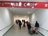 Flughafen Berlin Schoenefeld S-Bahn zum Airport A B C D Terminal