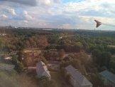 Flughafen Berlin Tegel Anflug Landung