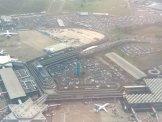 Flughafen Köln Bonn von oben Luftaufnahme